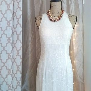Sean Collection Dresses - Vintage Silk Beaded Sean Collection Gown